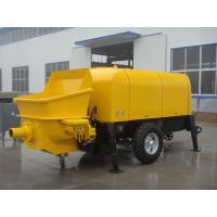 50m3/h Diesel Trailer Mounted Portable Concrete Pump Concrete trailer pump