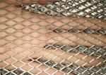 Plain Expanded Metal Sheet , Diamond Steel Mesh Sheet Customized Size