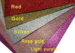Flash Powder Cardboard Glitter Card Paper 650mm Width For Wedding Invitation