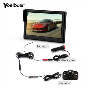 China Parking Car Reversing Aid System HD 5 Inch Screen Rear View Infrared Camera Waterproof on sale