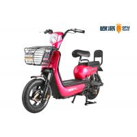 Colorful Electric Motor Scooter 350W / 500W Motor Power 42 Tubes Front Fork