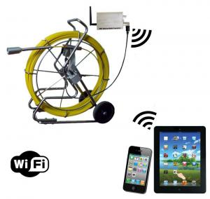 China WiFi Pipe Inspection Camera with 120M cable on sale