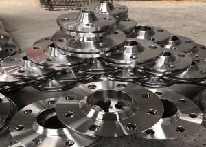 China Counter Stainless Steel Flanges , Heat Exchanger Reducing Weld Neck Flange 4 inch on sale