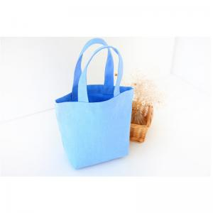 China Promotional cotton tote bags Canvas Material Mini Lunch bag Canvas small Picnic bag for sale on sale