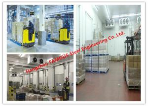 China Large Volume Temperature Controlled Cold Room Panel For Integrated Logistic Distribution Center on sale