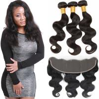 China Authentic Virgin Brazilian Hair Extensions , Brazilian Remy Virgin Hair Weave on sale