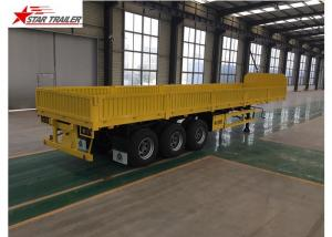 China High Strength Front Load Trailer 50T Max Payload High - Tensile Steel Material on sale