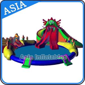 China Amusement Inflatable Water Park , Inflatable Water Sports Park , Inflatable Water Products on sale