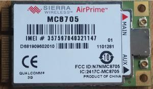 China Qualcomm  3G GPS Module High Speed Quad Band Sierra Wireless USB GPS Module MC8705 on sale