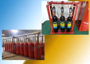 China Enclosed Flooding FM 200 Suppression System Piped for Single Zone on sale