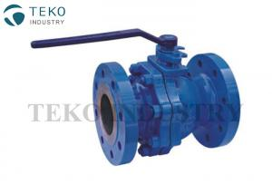 China Floating Ball Design Flanged Ball Valve , CF8 Body RPTFE Seated 2 Inch Ball Valve For WOG on sale