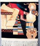 Tapeçaria do estilo de Tibet