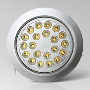 China 24W Swing Spot LED Ceiling DownLight Fixture / Mini Bulb For Hospital on sale