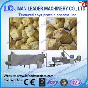 China Automatic soya  process line soya tvp tsp soya bean protein food machine on sale
