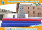 China Square Inflatable Sport Games , Inflatable Rock Climbing Wall For Commercial Events wholesale
