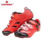 Nylon Breathable Road Cycling Boots Geometry Design Body High Pressure Resistance