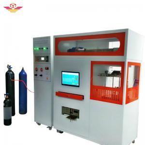 China ASTM E1354 Fire Testing Equipment Building Material Cone Calorimeter ISO 5660-1 on sale