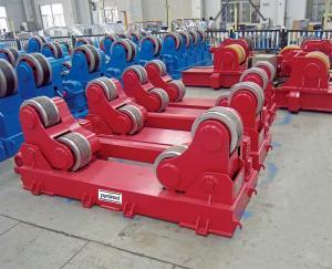 China 100 Tons Sand Blasting Welding Rotator For Diameter of 1000 - 5500 on sale