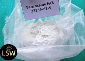China Benzocaine Hydrochloride Steroid Raw Powder , Pain Relief Powder CAS 23239-88-5 on sale