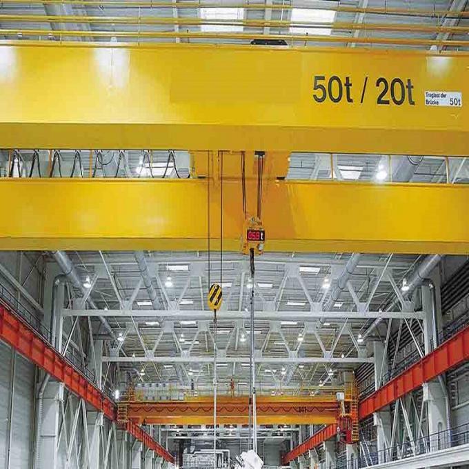 LDA type 5 ton single girder traveling overhead crane price and overhead travelling crane price
