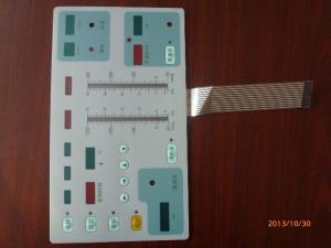 China Membrane Keypad Graphic Overlay Printing With Electronic White Board Curcuit on sale