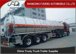 Stainless Steel Tanker Trailers With A Capacity Of 45000 Liters For Transport Of Palm Oil