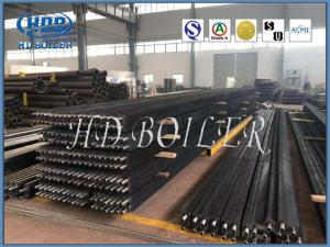 China Energy Efficient Boiler H Fin Tube For Economizer High Efficient ASME Standard on sale