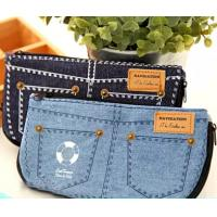 China Jean Style Pen Pencil Cosmetic Storage Pouch Bag Case promotion gift on sale