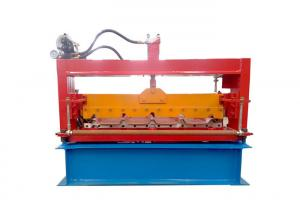 China Aluminium Profile Sheet Metal Roll Forming Machines Cutter Material Cr12 Heat Treatment on sale