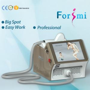 China 2018 professional protable 15 inch screen 808nm diode laser treatment for hair removal with no pain on sale