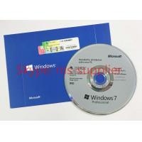 Microsoft Original Computer System Softwares , Windows 7 Professional 64 Bit Retail DVD / CD Media