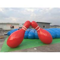 China bowling, goupille de bowling en plastique, jeu humain gonflable de bowling, équipement de bowling, boule de bowling humaine, goupilles de soufflement on sale