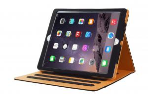 China 12.9 Inch Apple ipad protective case , PU Leather Stand Case with sleep wake on sale