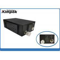 China UGV Portable Digital Video Transmitter , Mini COFDM AV Transmitter with Military Grade Level on sale
