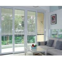 Dust Free Blinds Inside Glass White Aluminium Material Sound Insulation