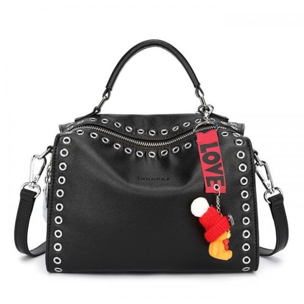 b6827bb52ad PU Pandora Bag Faux Leather Handbags with Rivets Fashion Wholesale Shoulder  Bags Images