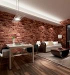 Contemporary economical waterpoof  3D brick foam Vinyl Wallpaper