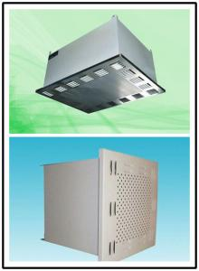 China Air Conditioning HEPA Air Blower Filter 1500 m³/h Rated Air Cleanroom Products on sale
