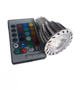 China 3*2W GU10 super bright Epistar led chip RGB led spot light on sale