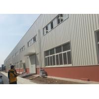 Fire Proof  Steel Warehouse Construction 120 * 60 * 9 M For Impulse Sport Equipments