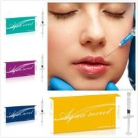 Aqua Secret brand breast filler injection Best Quality Face/Lip/Breast Filler Hyaluronic Acid
