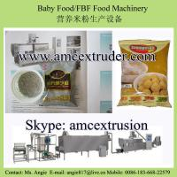 Baby food/Instant porridge/Samaposha/FBF/CSB making machine