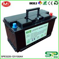 Solar Storage System 12v 100ah Lithium Ion Deep Cycle Battery Replace Lead Acid