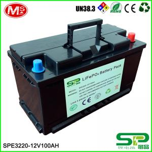 China Solar Storage System 12v 100ah Lithium Ion Deep Cycle Battery Replace Lead Acid on sale