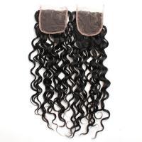 """8"""" to 20"""" Malaysian Natural Wave Lace Closure 100% Real Virgin Human Hair Material"""
