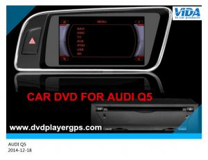 China 7inch HD touch screen car dvd gps android car dvd player for Audi Q5 right hand 2008-2013 on sale