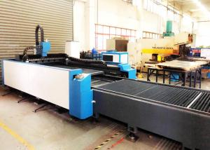China Auotomatic Exchange Table Laser Sheet Cutting Machine FL-3015-1000W High Cutting Speed on sale