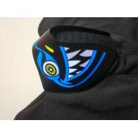 Wholesale Custom Light Up El Mask Party Favor Sound Activated el Panel Mask For Music party  DJ mask Makeup Dance mask