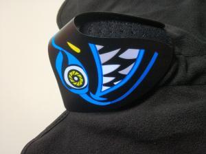 China Wholesale Custom Light Up El Mask Party Favor Sound Activated el Panel Mask For Music party  DJ mask Makeup Dance mask supplier