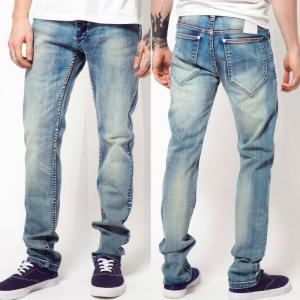 China High quality men jeans wash artwork denim jeans   on sale